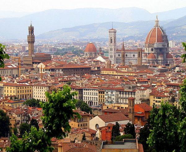 italian grand tour panorama